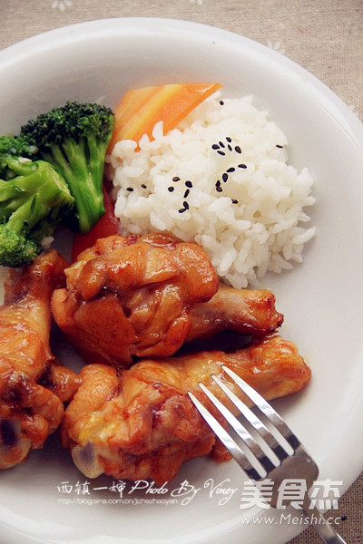 奥尔良鸡翅饭怎么煮