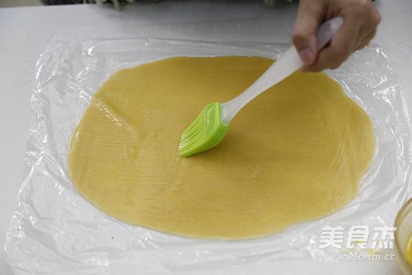 朗姆葡萄椰蓉饼干的制作