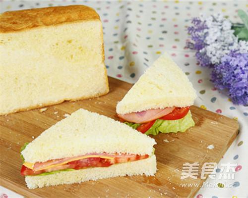 西式营养早餐三明治怎么煮