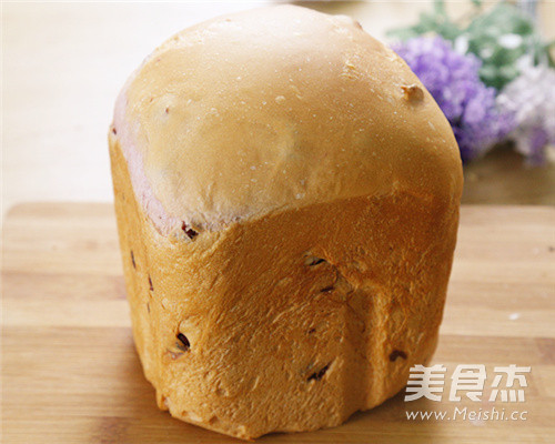 奶香浓郁紫薯面包怎么煮
