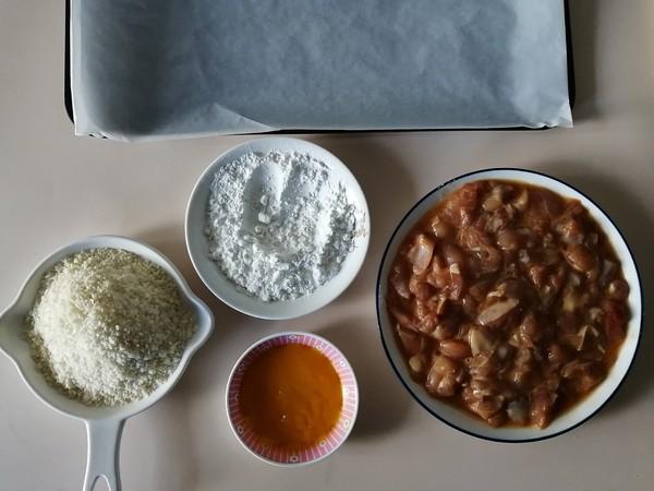 烤箱版鸡米花怎么做