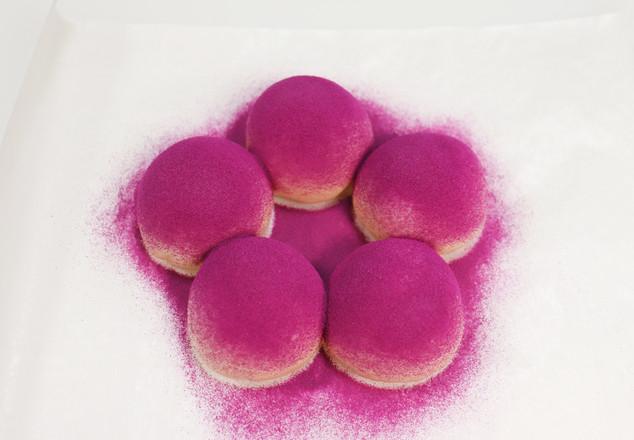 紫薯小花面包怎样做