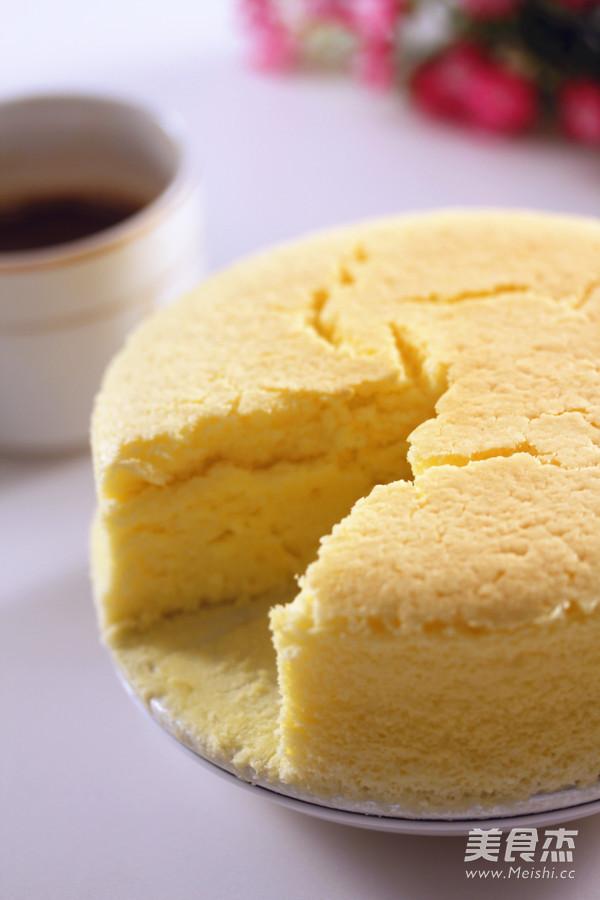 芝士蛋糕成品图