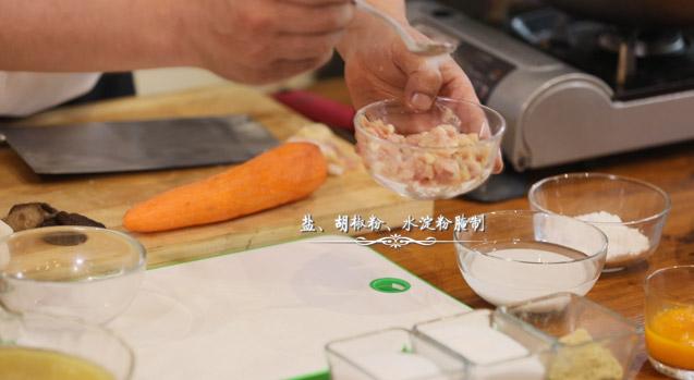 浓汤松茸石榴鸡的家常做法