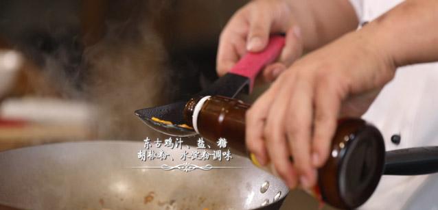 浓汤松茸石榴鸡怎么炒