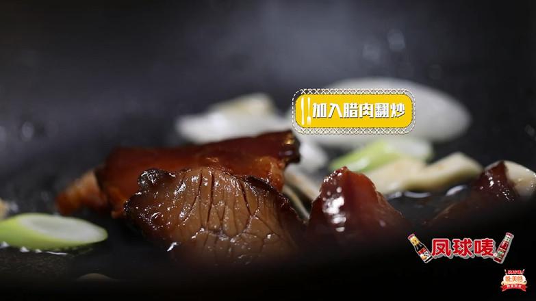 悦美食-腊肉炒荷兰豆的简单做法