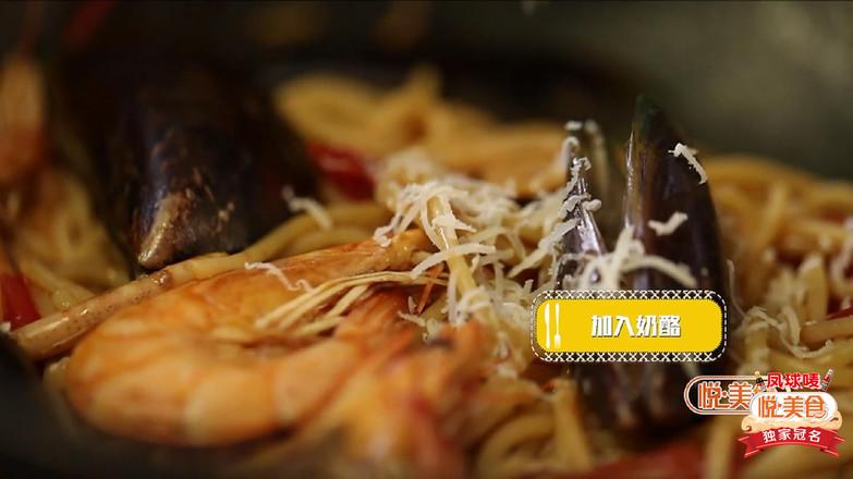 悦美食-海鲜意面怎么做