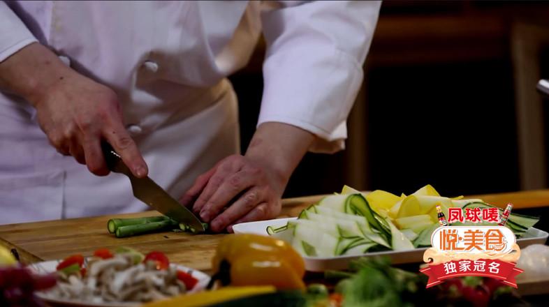 煎扇贝配沙拉的做法大全