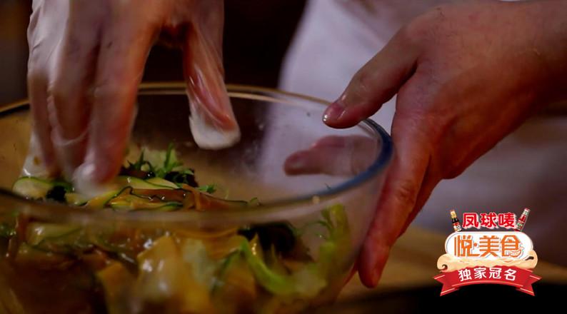 煎扇贝配沙拉怎么做