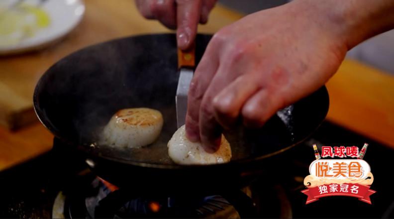 煎扇贝配沙拉怎么煮