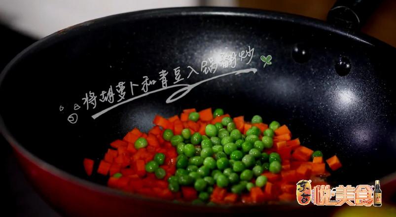 五彩素食焖面的简单做法