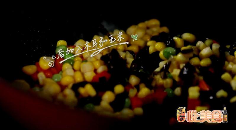 五彩素食焖面怎么吃