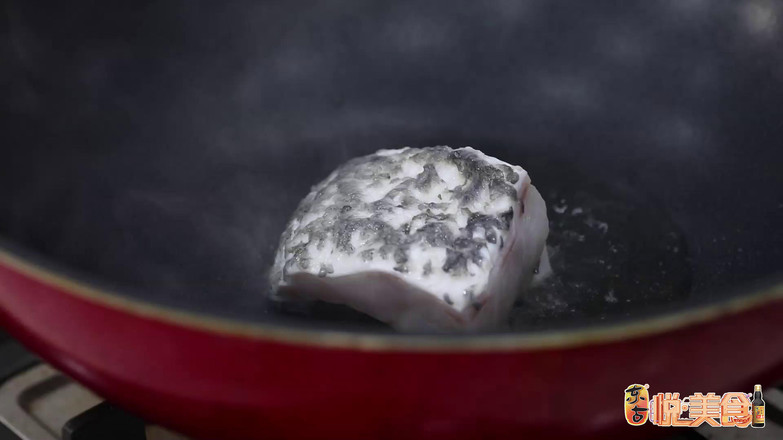 鲜人参豆瓣煎煮石斑鱼的做法图解