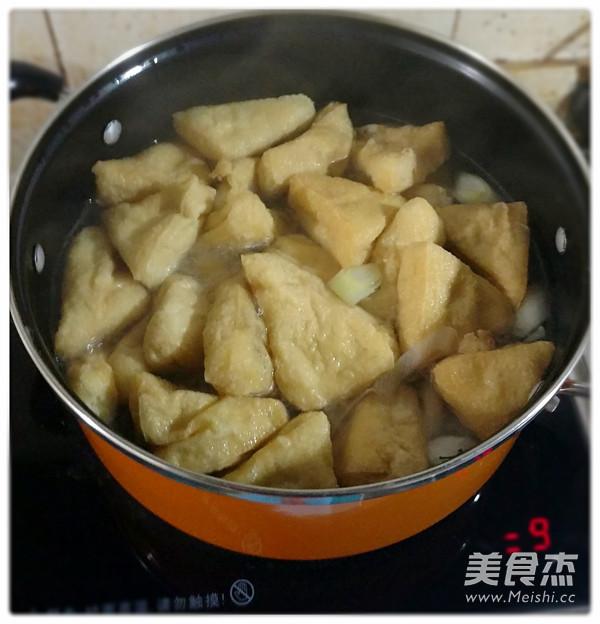 炸豆腐汤的家常做法