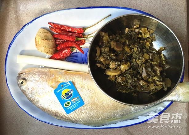 腌菜烧大黄鱼的做法大全