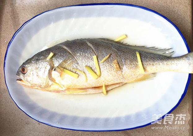 腌菜烧大黄鱼的做法图解