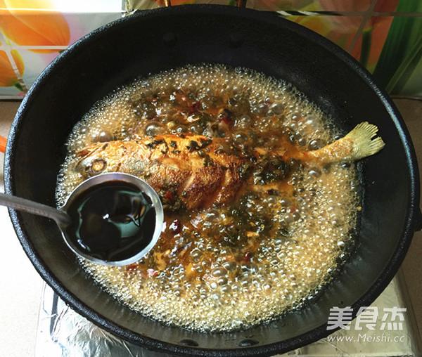 腌菜烧大黄鱼怎样做