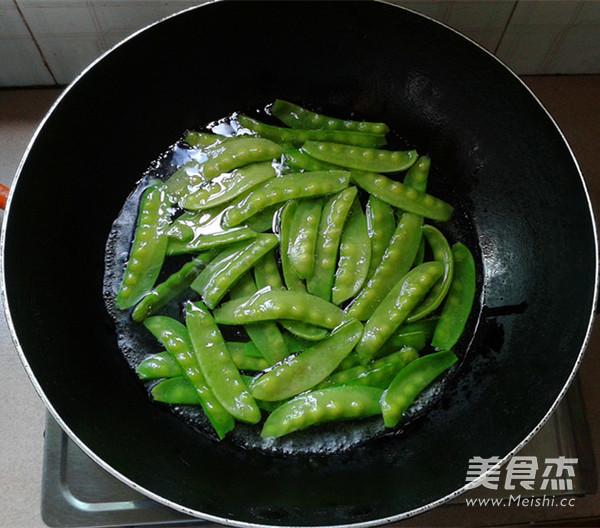 腊肉炒荷兰豆怎么吃