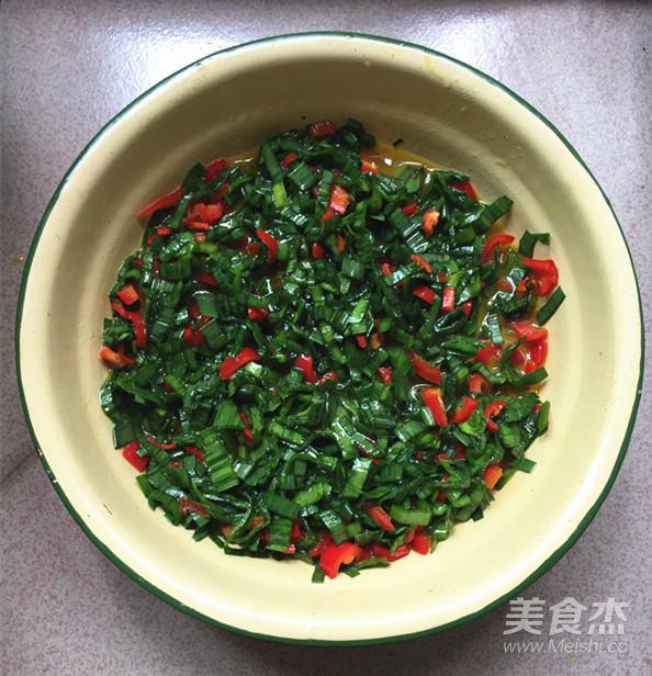 青蒜叶红椒煎蛋怎么炒