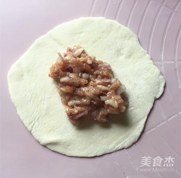 洋葱猪肉馅饼的制作