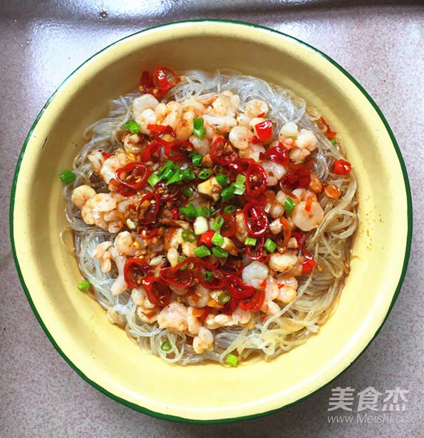 龙口粉丝蒸虾仁怎样煮