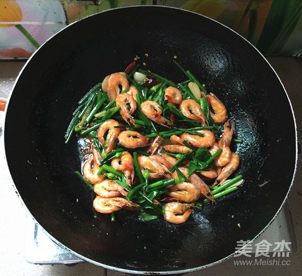 韭菜苔烧海虾怎样煮
