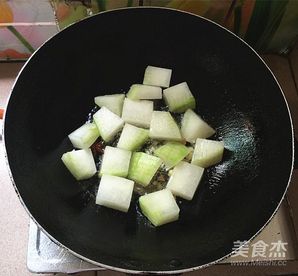 家常红烧冬瓜的简单做法