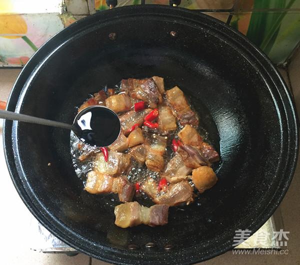 红皮萝卜焖腊猪腿肉怎么煮