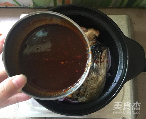 酱焖三文鱼头怎样做