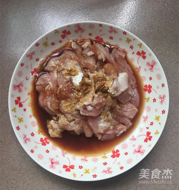 肉片炒泡椒藕带的做法图解