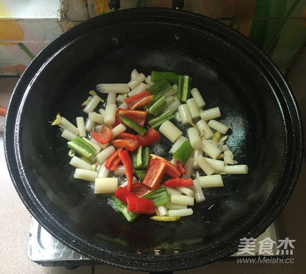 肉片炒泡椒藕带怎么煮