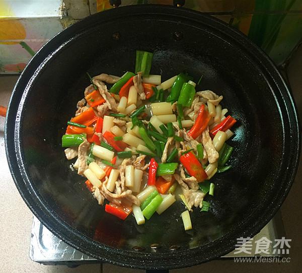 肉片炒泡椒藕带怎样做