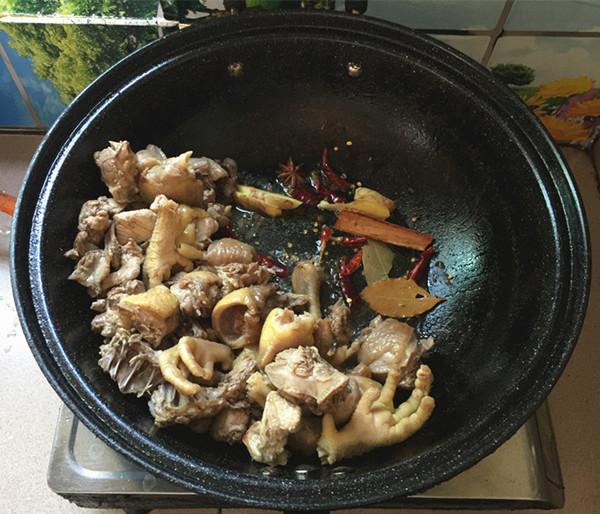 千页豆腐烧土鸡公怎么煮