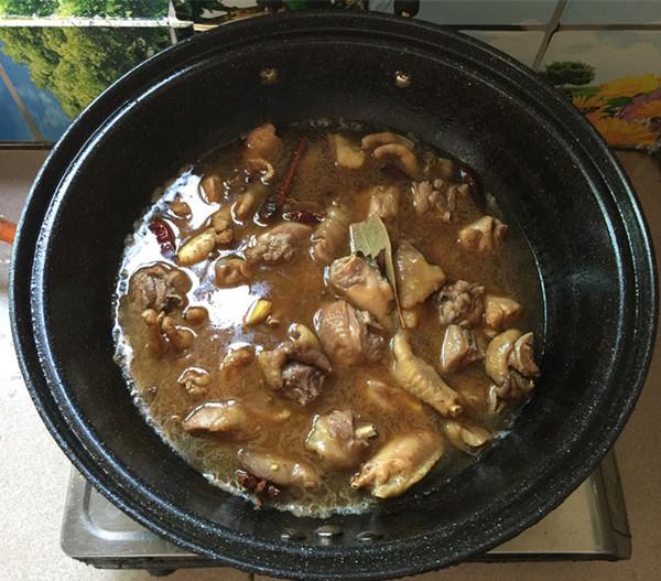 千页豆腐烧土鸡公怎样做