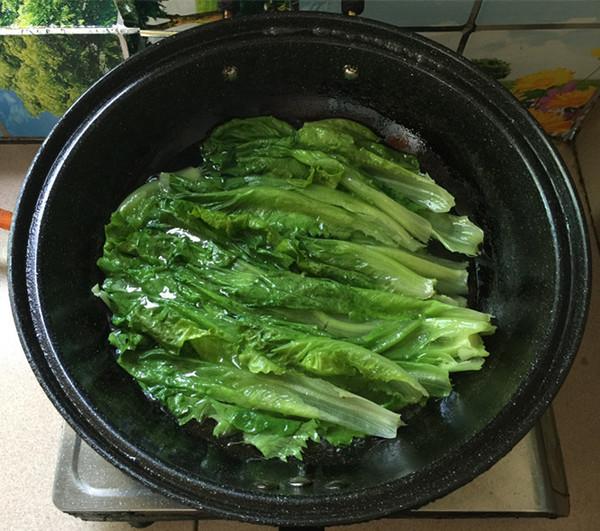 蒜蓉蚝汁生菜怎么做