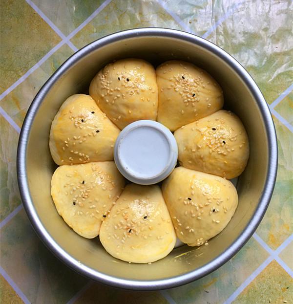 蜜豆花朵面包怎样炒