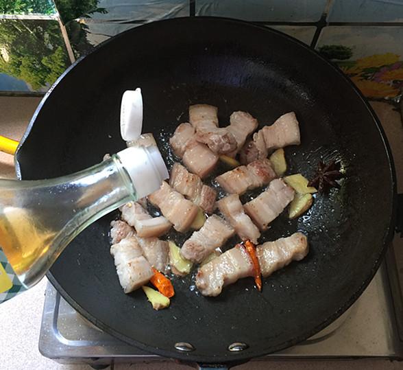 油豆角焖烧五花肉怎么煮