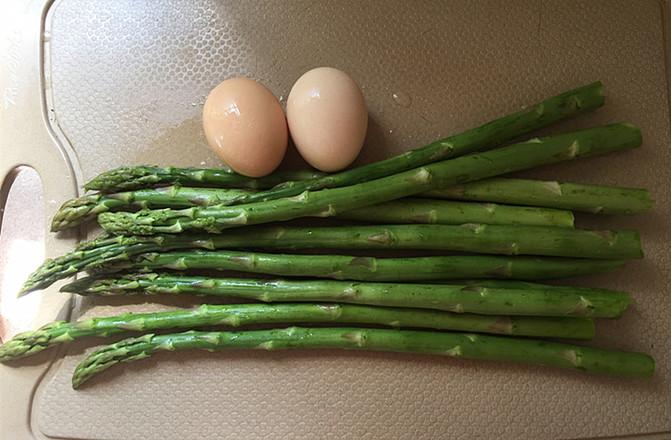 芦笋煎鸡蛋的做法大全
