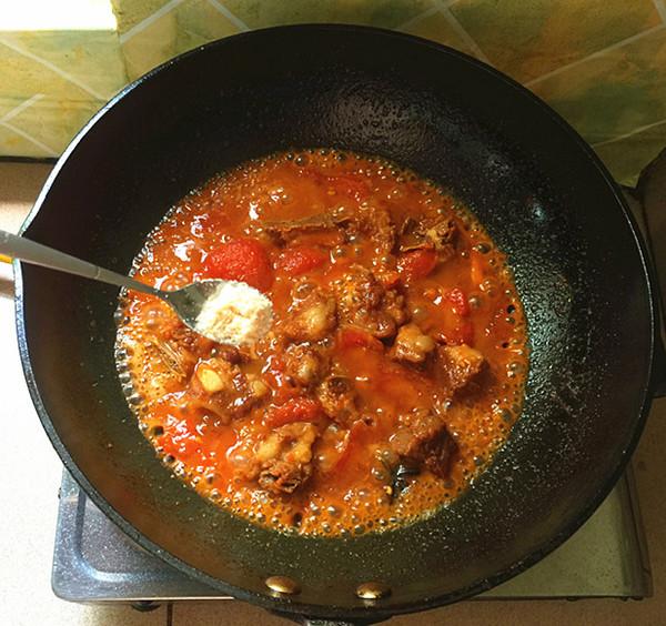 西红柿烧排骨怎样炖