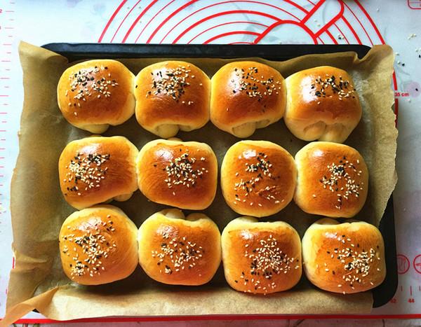 蔓越莓淡奶油面包的制作大全