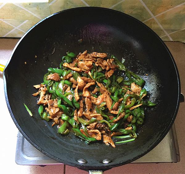 青椒炒肉片怎样煮
