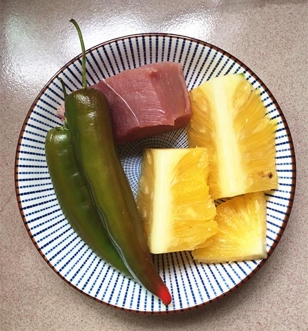 菠萝肉片的做法大全
