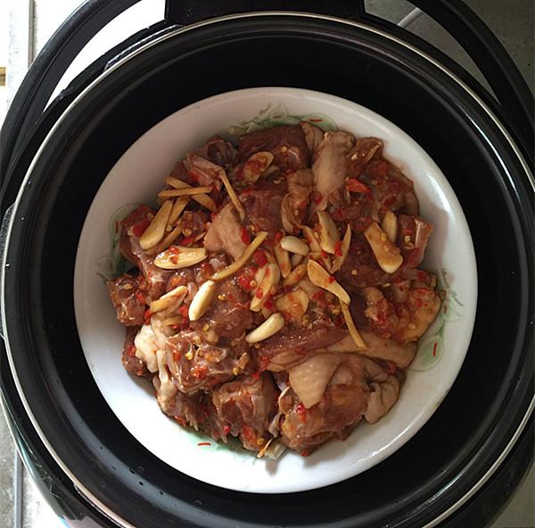 剁椒蒸鸭肉怎样做