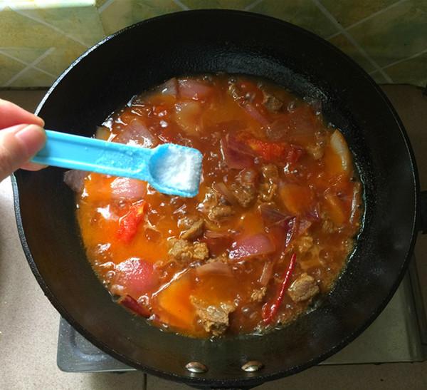 西红柿炖牛腩的做法大全