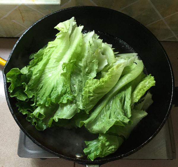 油淋生菜的简单做法