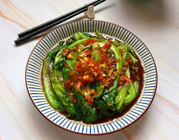 油淋生菜成品图