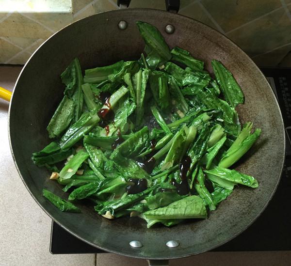 蚝油油麦菜怎么做