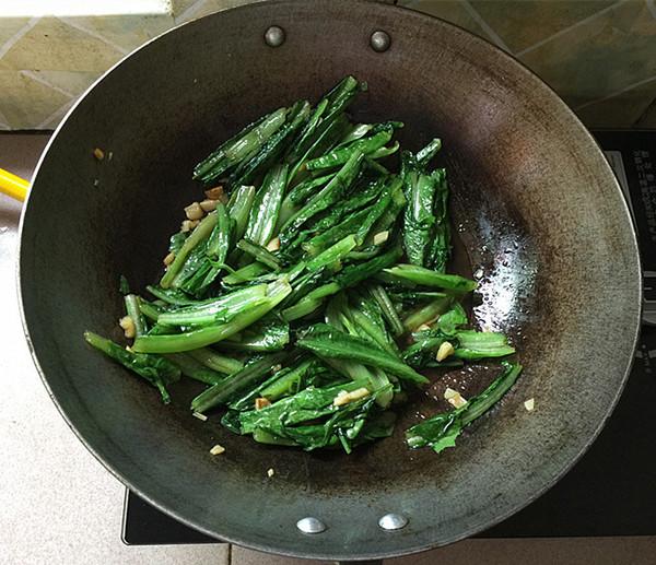 蚝油油麦菜怎么煮