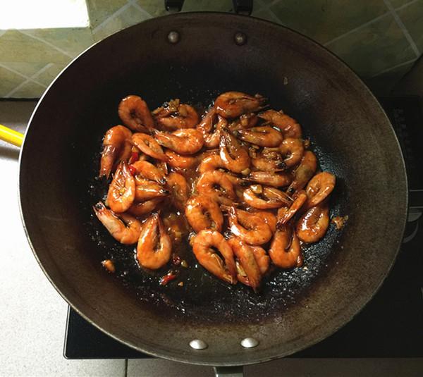 酱烧虾的步骤