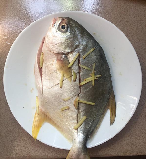 黄豆酱烧鲳鱼的家常做法